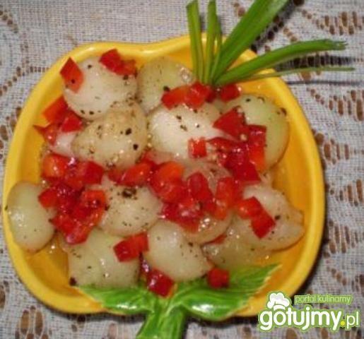 Sałatka z melona do grilla