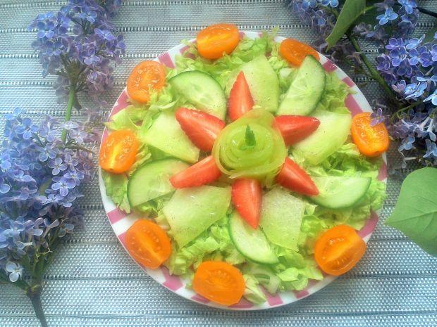 Sałatka z melonem