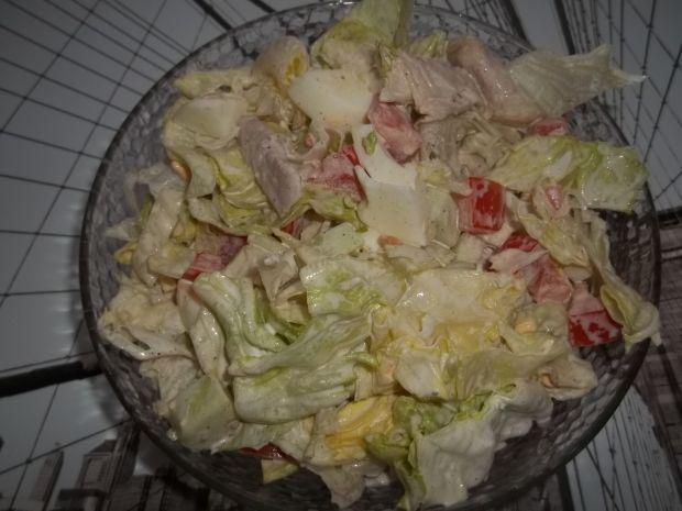 Sałatka z mięsem