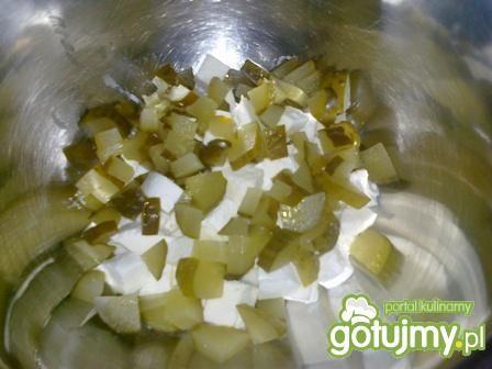 Sałatka z mozzarellą 4