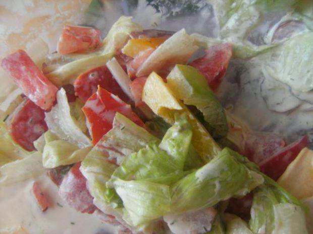 Sałatka z papryki