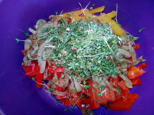 Sałatka z papryki konserwowej