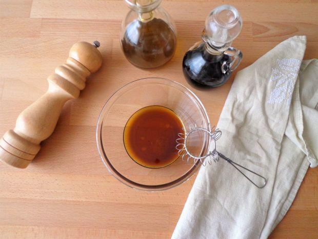 Sałatka z pomarańczą, koprem włoskim i granatem