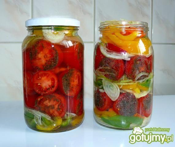 Sałatka z pomidorów