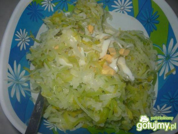 Sałatka z pora do ziemniaków