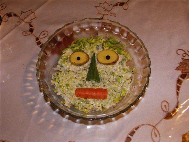 Salatka z porow