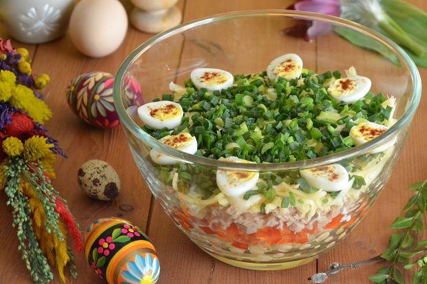 Przepis Salatka Z Przepiorczymi Jajkami Przepis Gotujmy Pl