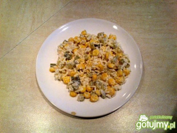 Sałatka z ryżem wg Dzikowiec
