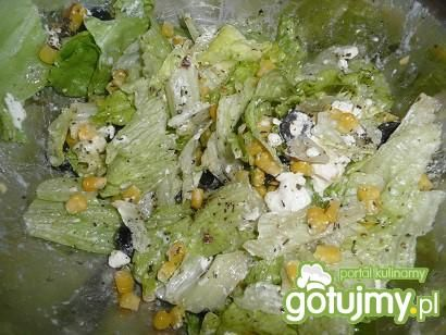 Sałatka z sałatą lodową