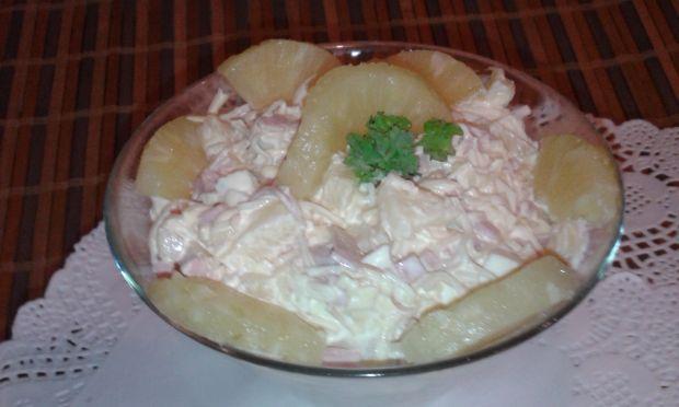 Sałatka z selera konserwowego .