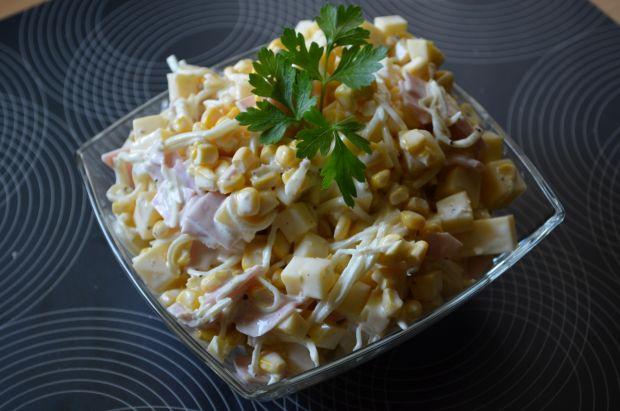 Przepis Salatka Z Selerem Konserwowym Przepis Gotujmy Pl