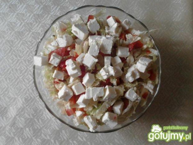 Sałatka z serem feta 3