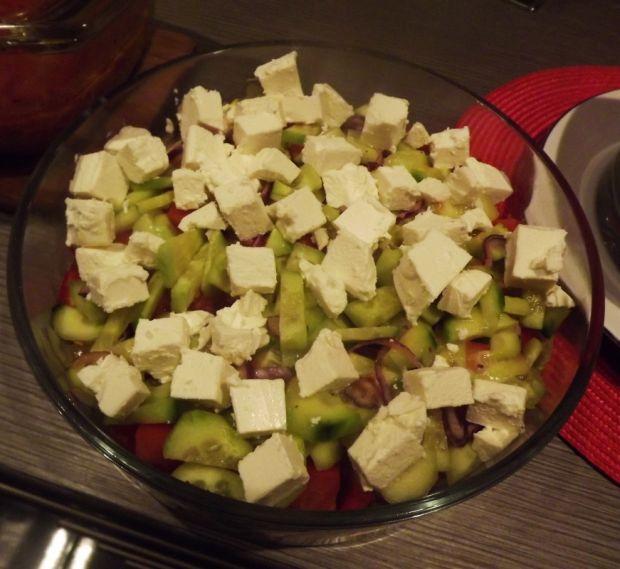 Sałatka z serem feta