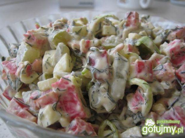 Sałatka z surimi