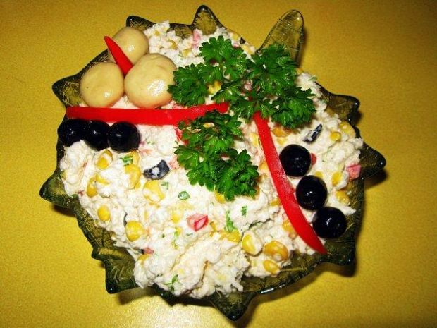 Sałatka z surowego kalafiora