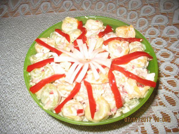 Sałatka z tortrellini