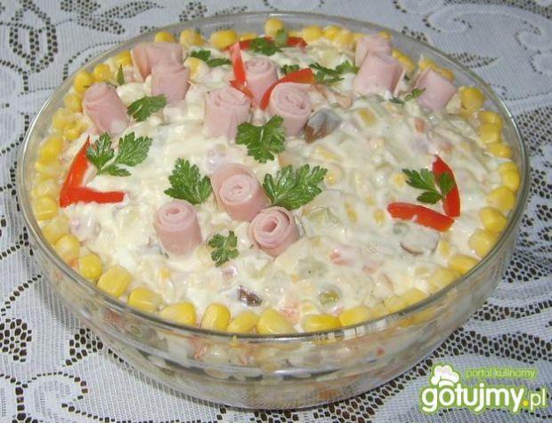 Sałatka z ziemniakami wg beatkaa153