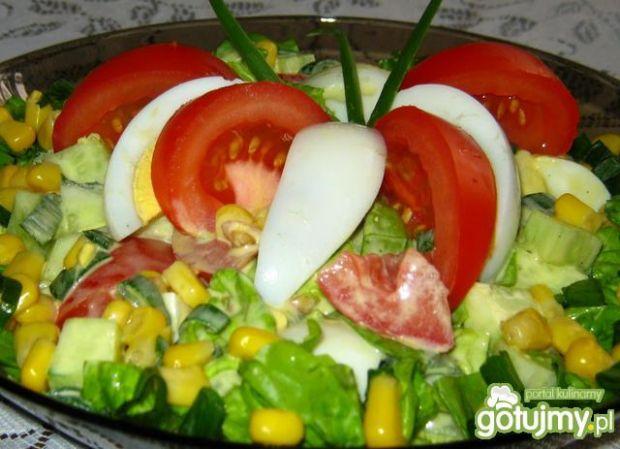 Sałatka ze sałatą