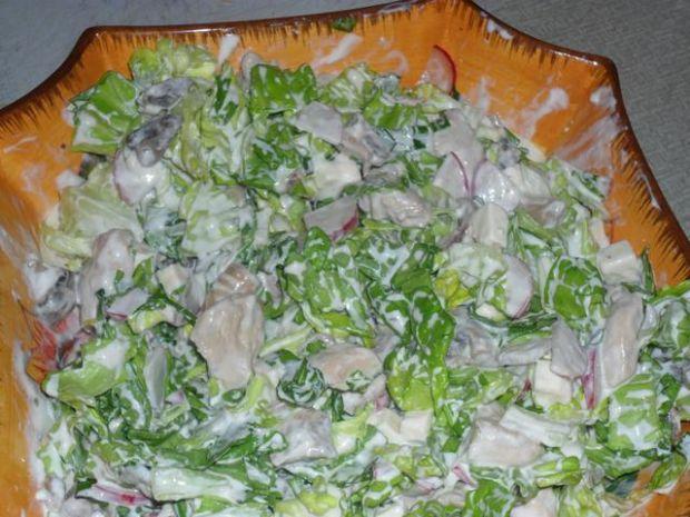 salatka ze słonym serem