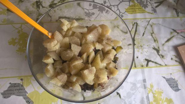 Sałatka ziemniaczana z boczkiem i koperkiem