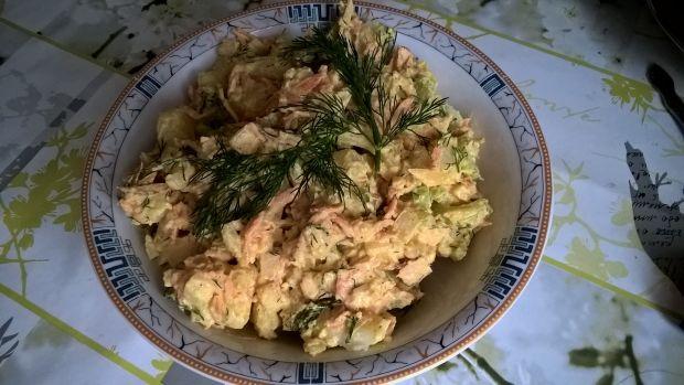 Sałatka ziemniaczana z curry