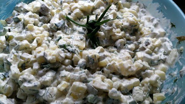 Sałatka ziemniaczana z koperkiem