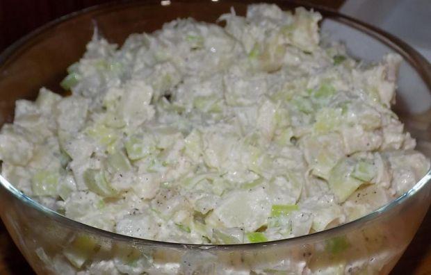 Sałatka ziemniaczana z warzywami