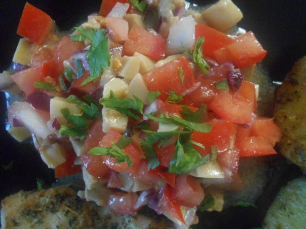 Salsa pomidorowo-pieczarkowa