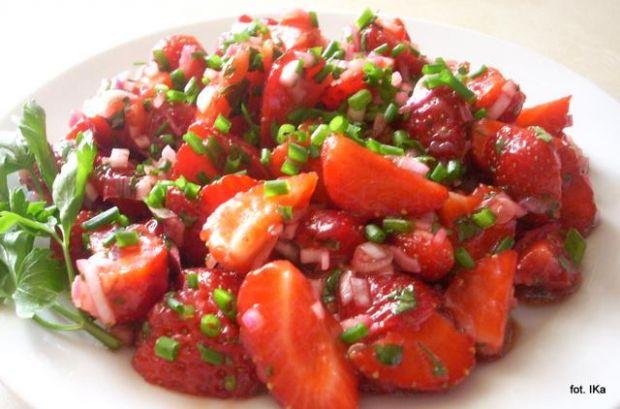 Salsa truskawkowa