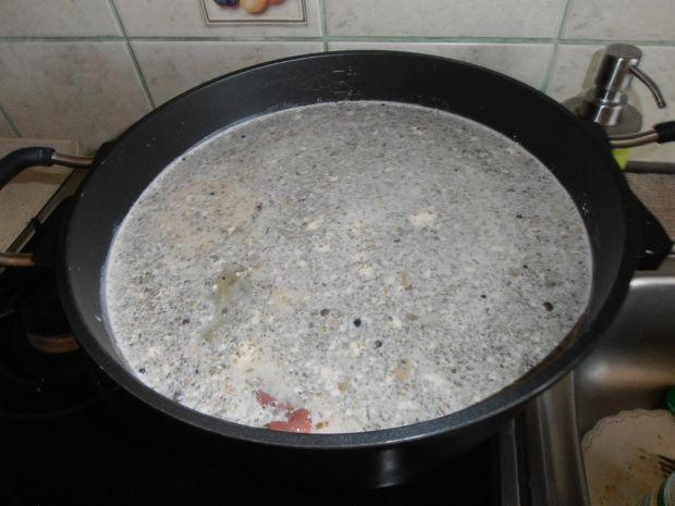 Schab gotowany w majonezie