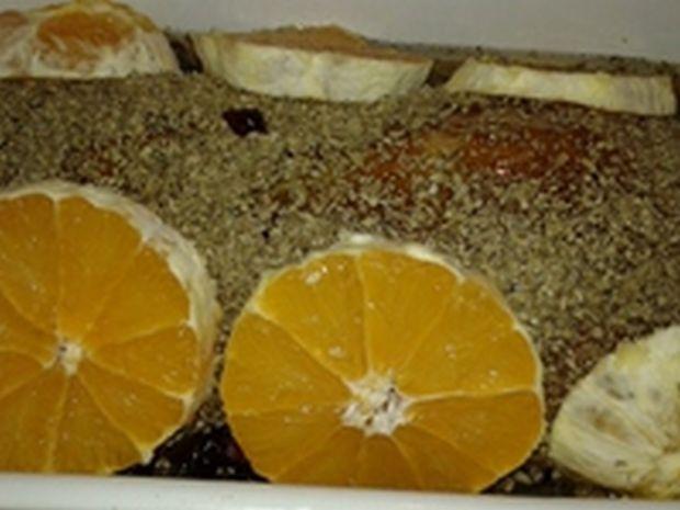 Schab nadziany  żurawiną z nutką pomarańczy