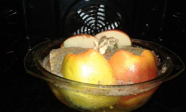 Schab pieczony w cydrze jabłkowym