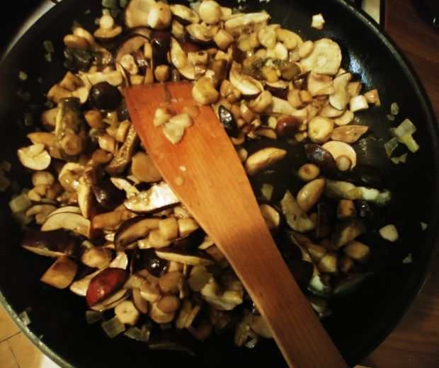 Schab w sosie grzybowym