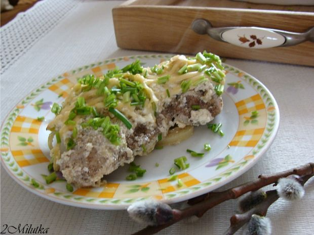 Schab w zupie cebulowej
