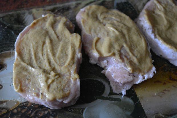 Schab z cukinią i żółtym serem