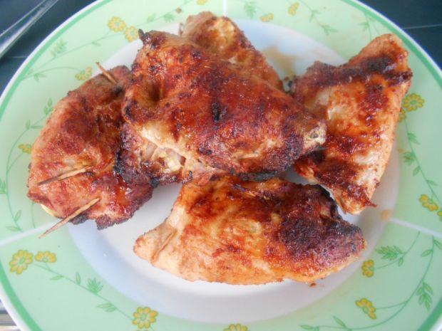 Schab z wędzonym kurczakiem