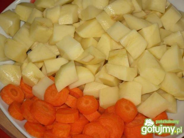 Schab z ziemniakami z piekarnika