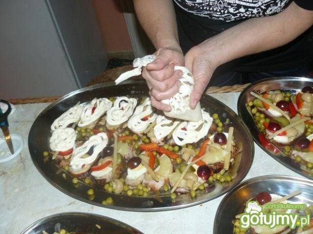 Schabiki - zimny bufet