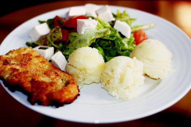 Schabowy z żółtym serem