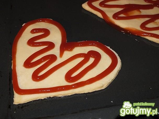 Serduszkowe pizzerinki na Walentynki
