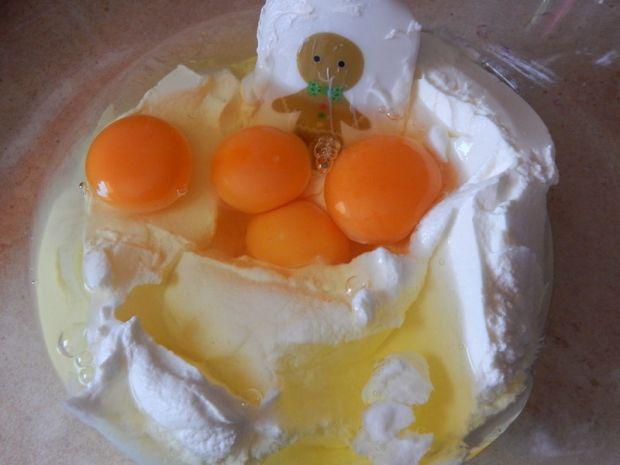 Sernik dyniowo-pomarańczowy