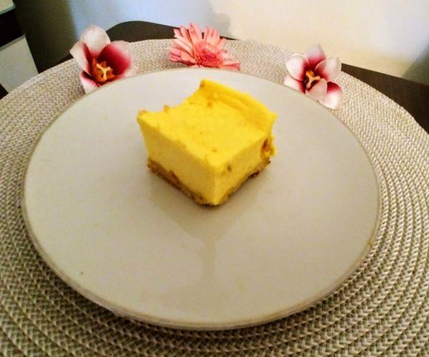 Sernik dyniowy z mango