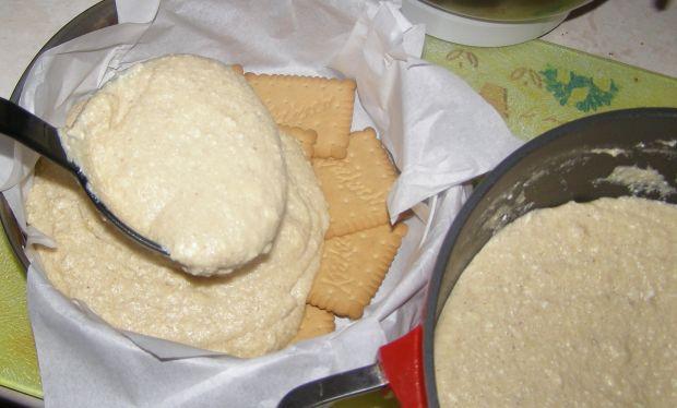 Sernik gotowany