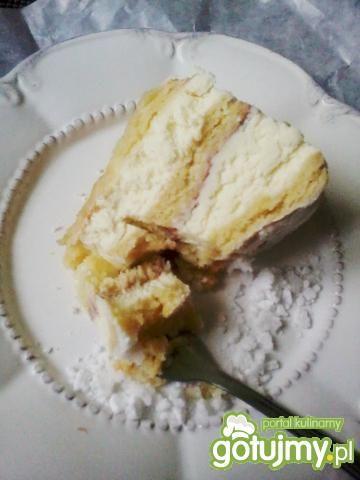 Sernik gotowany wg Gosi