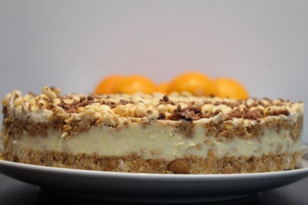 Sernik Kangoos  z białą czekoladą