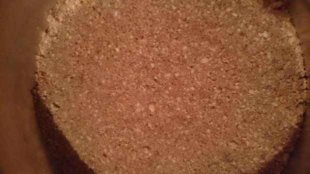 Sernik miodowy z cynamonem (pieczony)