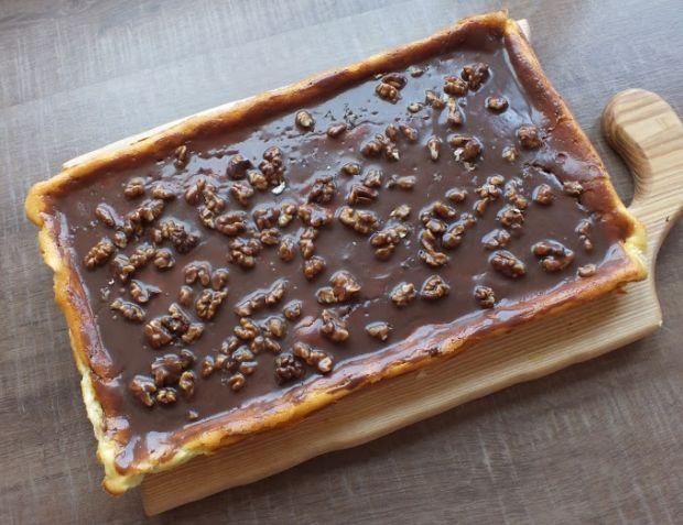 Sernik wiedeński z czekoladą