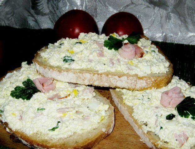 Serowa pasta do chleba