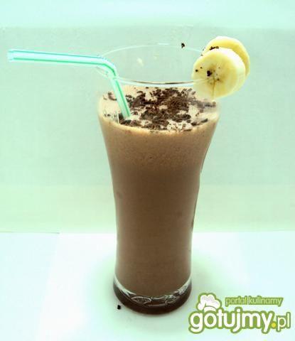 Shake bananowo-czekoladowy wg przejs