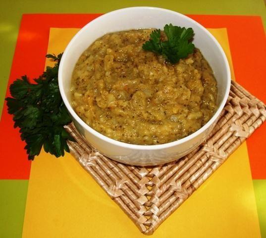 Shrek - zupa - krem brokulowy